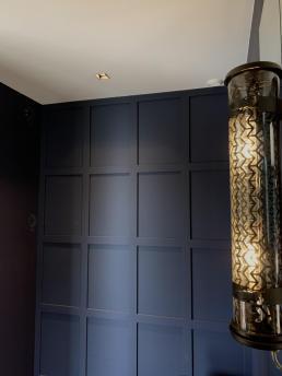 Be chroma - Mur tête de lit bleu céleste
