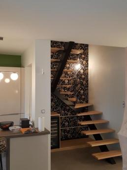 Be chroma - papier peint cage d'escalier