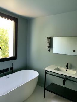 Be chroma - salle de bain vert tendre