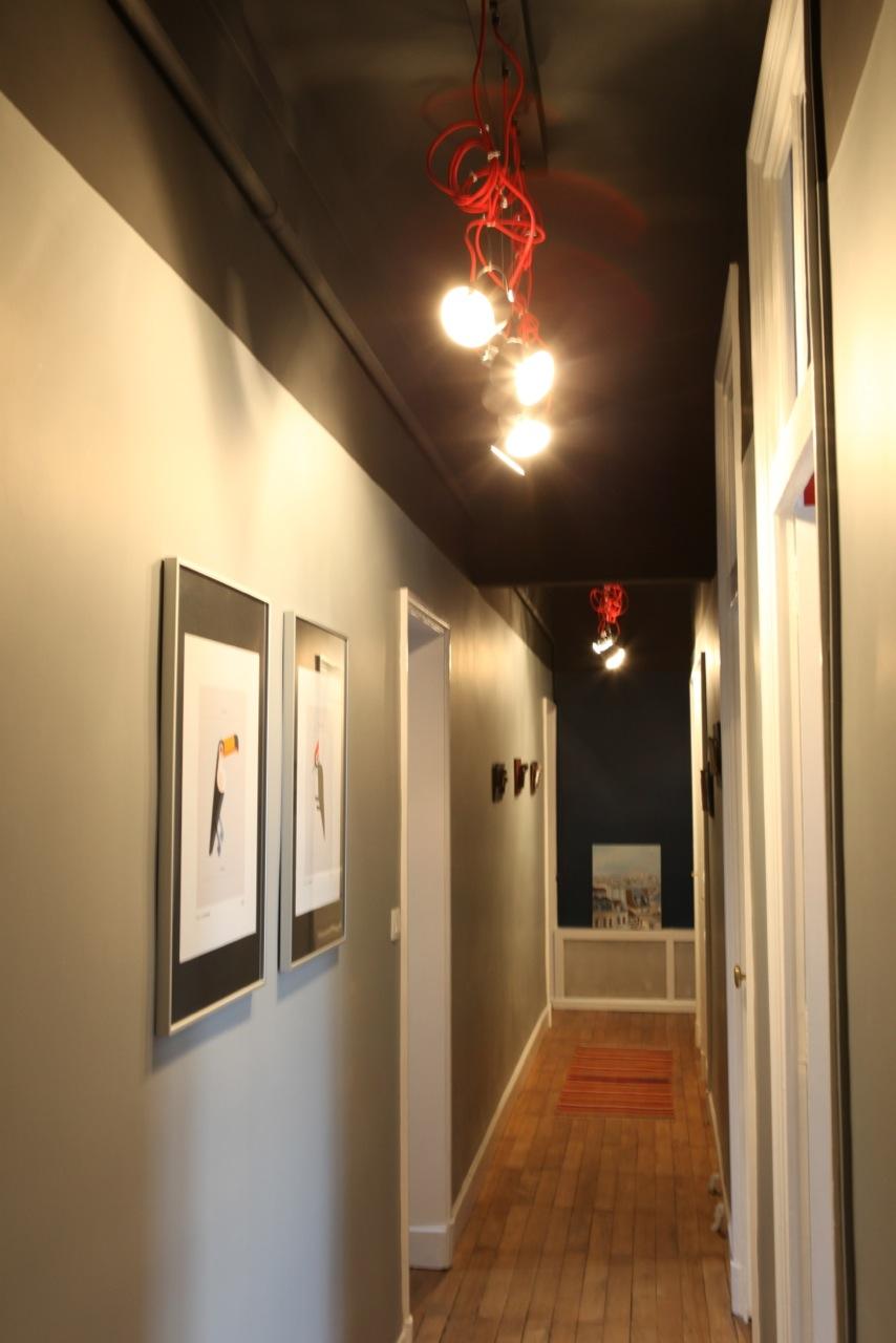 Refonte des volumes d'un couloir par la couleur